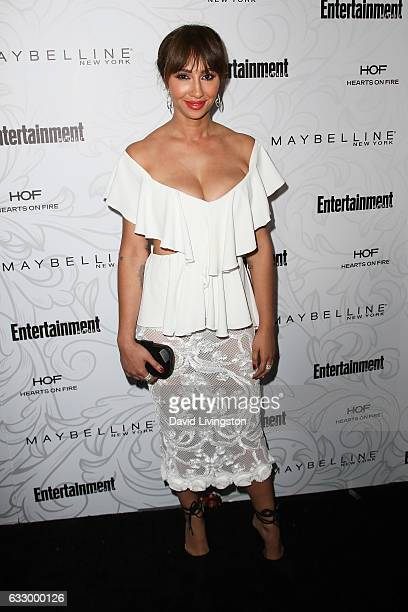 Actress Jackie Cruz arrives at the Entertainment Weekly celebration honoring nominees for The Screen Actors Guild Awards at the Chateau Marmont on...