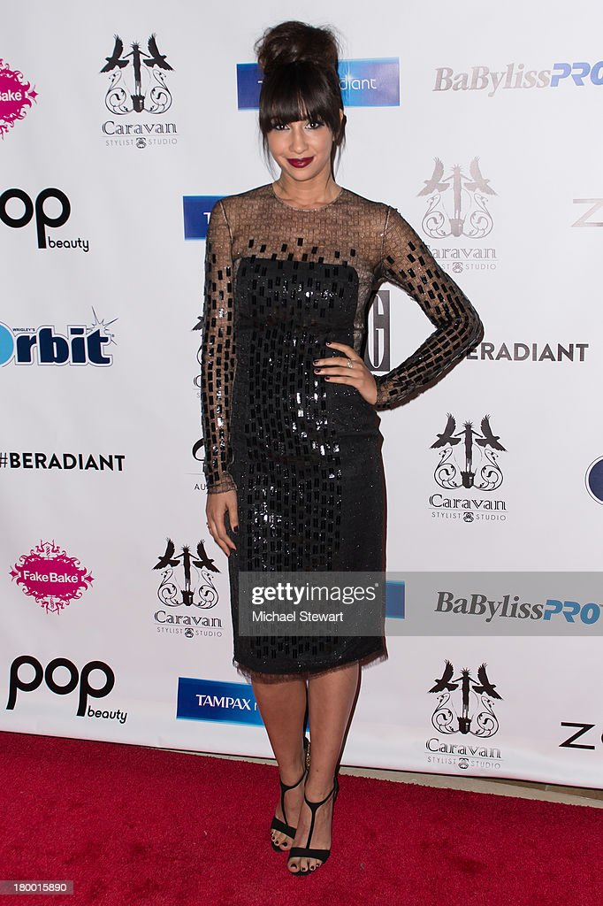 Actress Jackie Cruz attends Caravan Stylist Studio's Fashion Week Soiree at Carlton Hotel on September 7, 2013 in New York City.