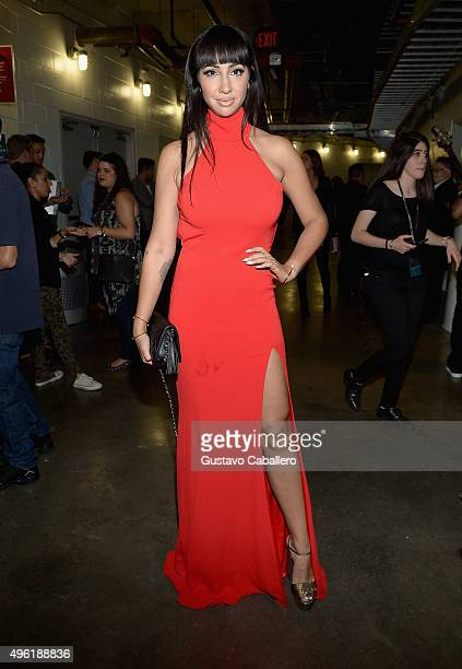 Actress Jackie Cruz attends iHeartRadio Fiesta Latina presented by Sprint at American Airlines Arena on November 7 2015 in Miami Florida