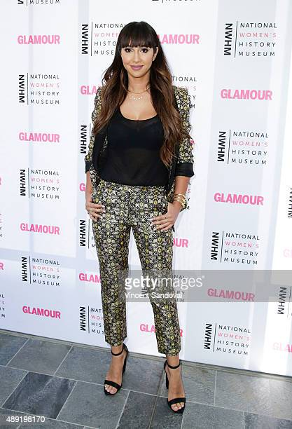 Actress Jackie Cruz attends National Women's History Museum's 4th Annual 'Women Making History' brunch at Skirball Cultural Center on September 19...