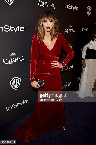 Actress Jackie Cruz attends The 2016 InStyle And Warner Bros 73rd Annual Golden Globe Awards PostParty at The Beverly Hilton Hotel on January 10 2016...