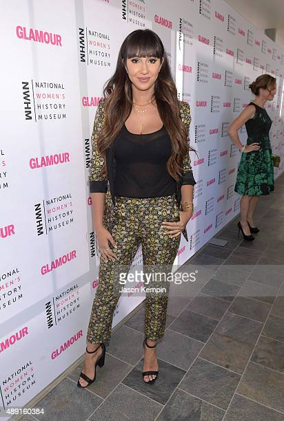 Actress Jackie Cruz attends the 4th Annual Women Making History Brunch presented by the National Women's History Museum and Glamour Magazine at...