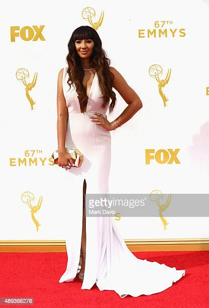 Actress Jackie Cruz attends the 67th Annual Primetime Emmy Awards at Microsoft Theater on September 20 2015 in Los Angeles California