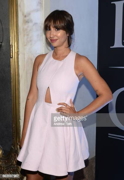Actress Jackie Cruz attends the American Express Celebrates The New Platinum Card With Hamilton Takeover Experience on April 1 2017 in New York City