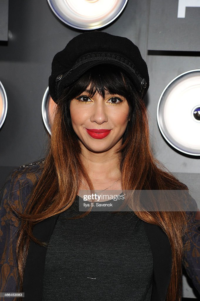 Actress Jackie Cruz attends the Bud Light Hotel on February 1, 2014 in New York City.
