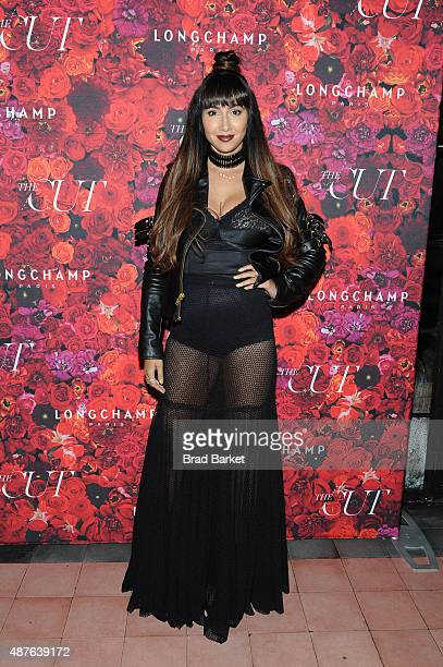 Actress Jackie Cruz attends the NYMag and The Cut fashion week party at The Bowery Hotel on September 10 2015 in New York City