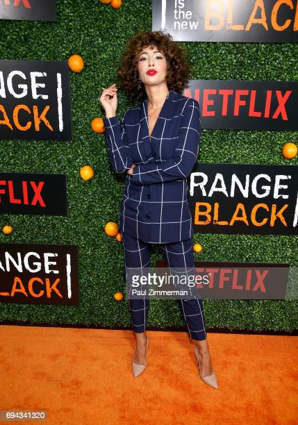 Actress Jackie Cruz attends the 'Orange Is The New Black' Season 5 Celebration at Catch on June 9 2017 in New York City