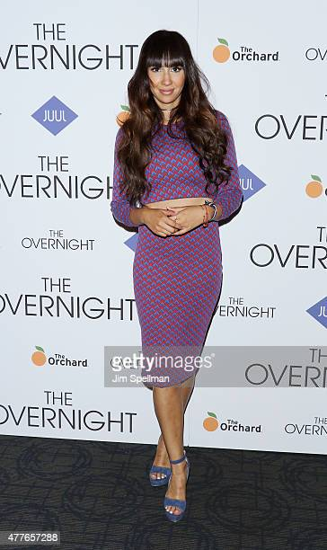 Actress Jackie Cruz attends 'The Overnight' New York premiere at Landmark's Sunshine Cinema on June 18 2015 in New York City