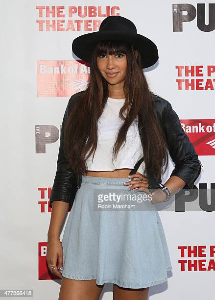 Actress Jackie Cruz attends The Public Theater's Opening Night Of 'The Tempest' at Delacorte Theater on June 16 2015 in New York City