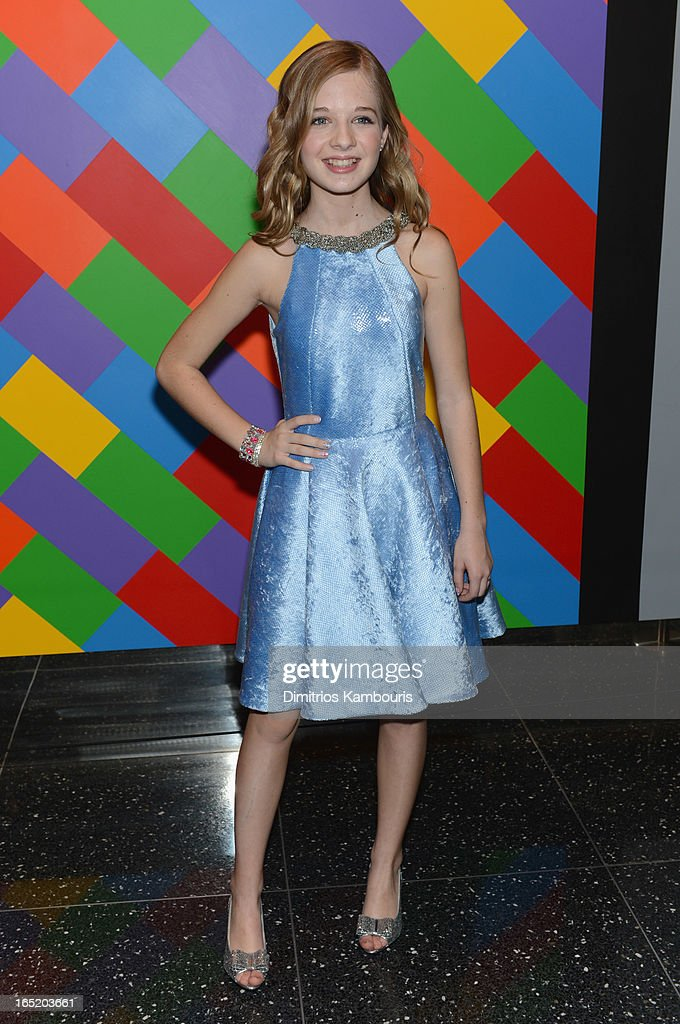 Actress Jackie Evancho attends 'The Company You Keep' New York Premiere at MOMA on April 1, 2013 in New York City.