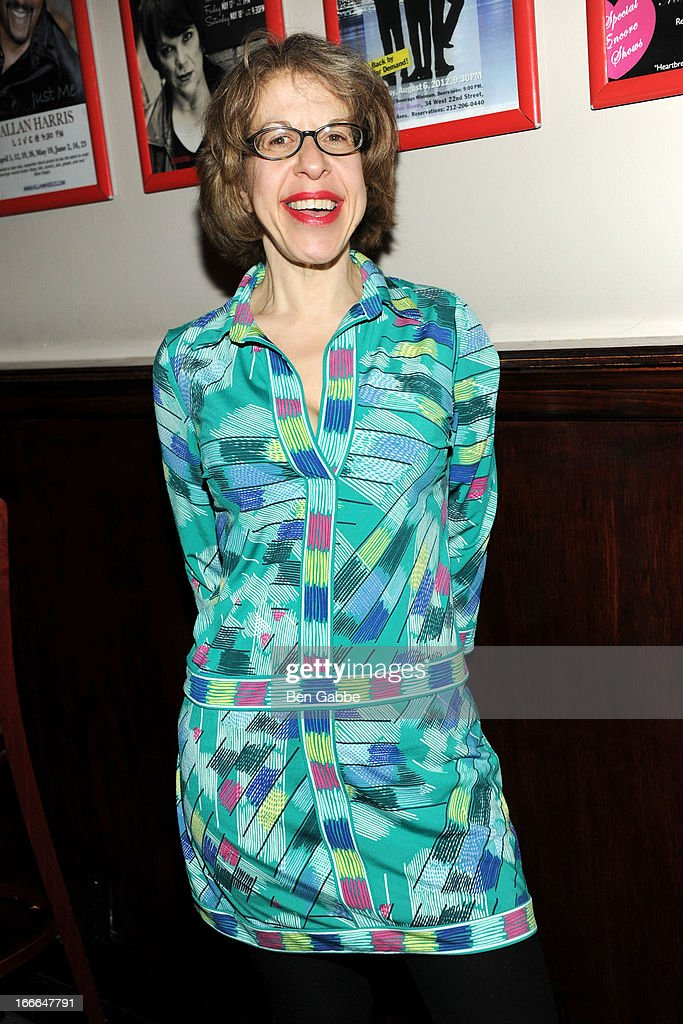 Actress Jackie Hoffman attends A Swell Party To Benefit the Actors Fund at the Metropolitan Room on April 14, 2013 in New York City.