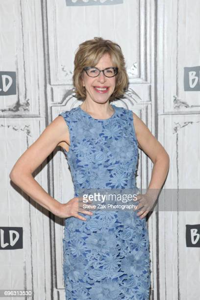 Actress Jackie Hoffman attends Build Series to discuss her role in 'Feud' at Build Studio on June 15 2017 in New York City
