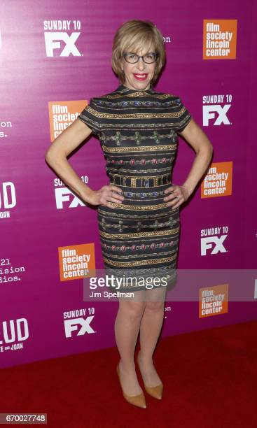 Actress Jackie Hoffman attends the 'Feud Bette and Joan' NYC event at Alice Tully Hall at Lincoln Center on April 18 2017 in New York City