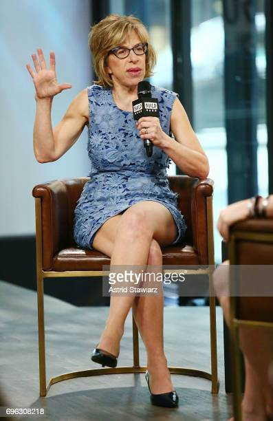 Actress Jackie Hoffman discusses 'Feud' at Build Studio on June 15 2017 in New York City