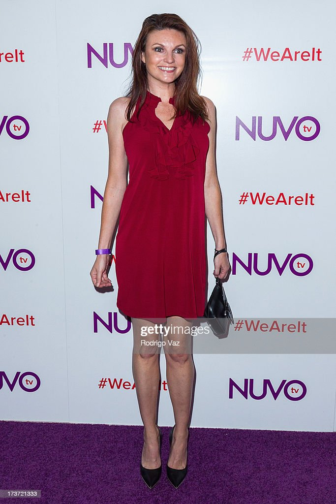 Actress Jackie Monahan attends NUVOtv Network launch party at The London West Hollywood on July 16, 2013 in West Hollywood, California.