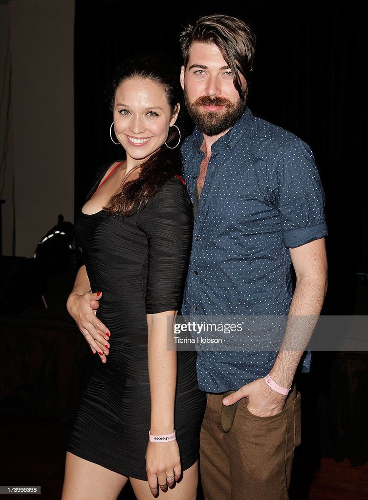 Actress Jaclyn Betham and her husband actor Toran Caudell attend Chelsie Hightower and Peta Murgatroyd's birthday party supporting anti-human trafficking organization 'Unlikely Heroes' on July 18, 2013 in Los Angeles, California.