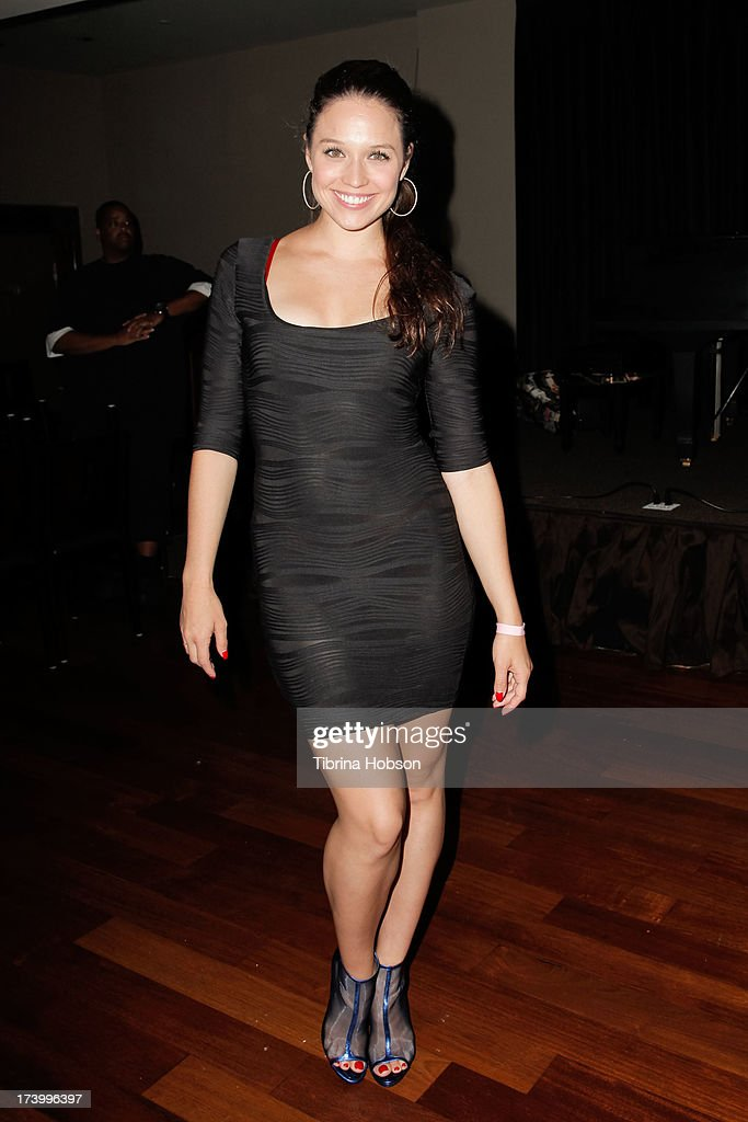 Actress Jaclyn Betham attends Chelsie Hightower and Peta Murgatroyd's birthday party supporting anti-human trafficking organization 'Unlikely Heroes' on July 18, 2013 in Los Angeles, California.