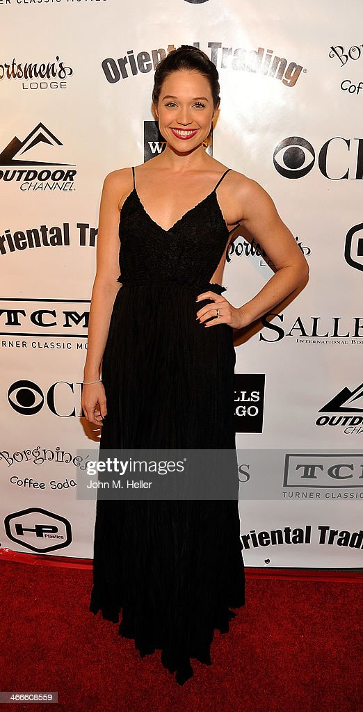 Actress <a gi-track='captionPersonalityLinkClicked' href=/galleries/search?phrase=Jaclyn+Betham&family=editorial&specificpeople=7921288 ng-click='$event.stopPropagation()'>Jaclyn Betham</a> attends the 2nd annual Borgnine Movie Star Gala honoring actor Joe Mantegna at the Sportman's Lodge on February 1, 2014 in Studio City, California.