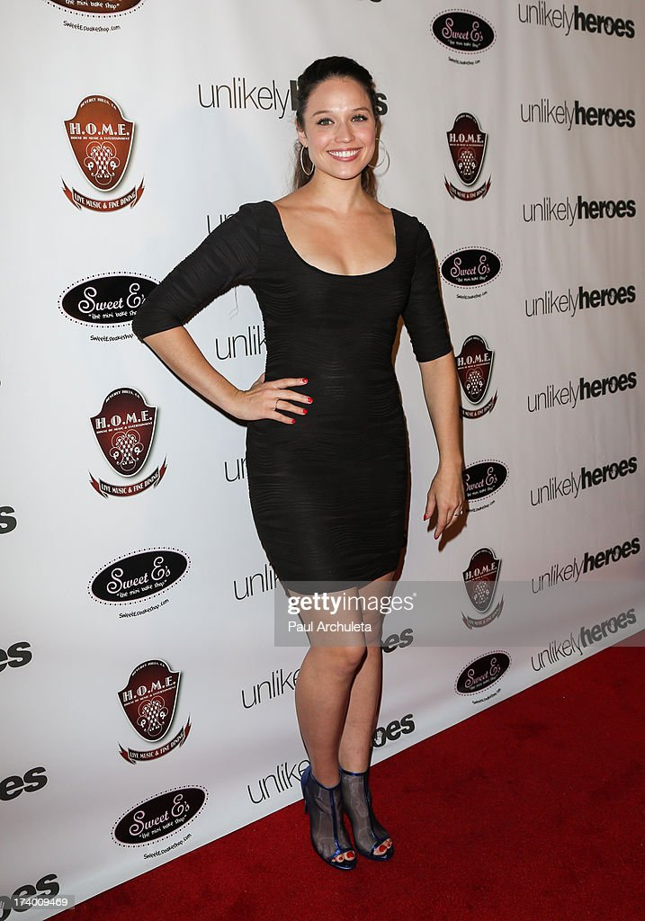 Actress Jaclyn Betham attends the birthday celebration for Chelsie Hightower and Peta Murgatroyd and also supporting the 'Unlikely Heroes' charity organization on July 18, 2013 in Los Angeles, California.