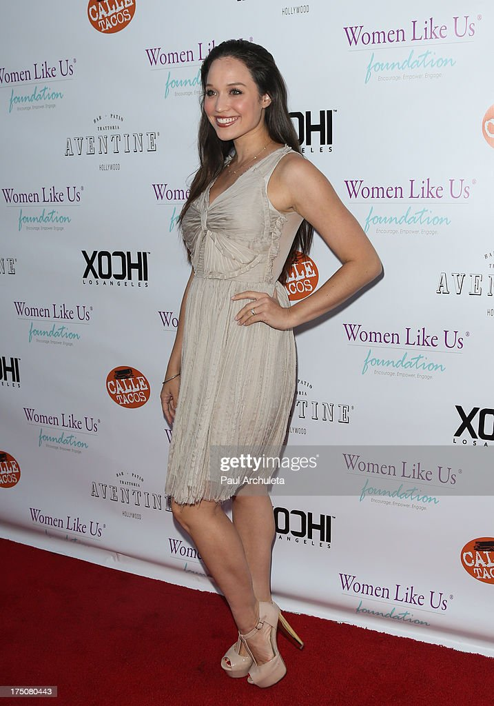 Actress Jaclyn Betham attends the Women Like Us Foundation's One Girl At A Time fundraiser at The Aventine Hollywood on July 30, 2013 in Hollywood, California.