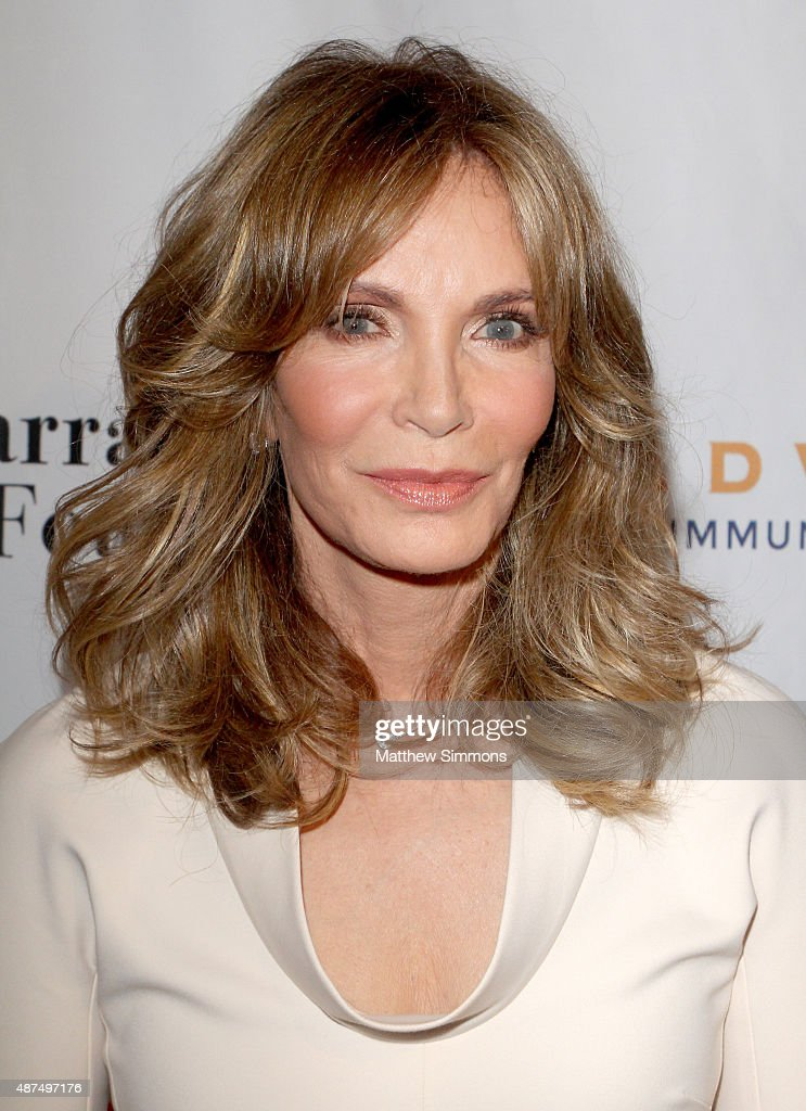 Actress jaclyn smith attends the farrah fawcett foundation 1st annual