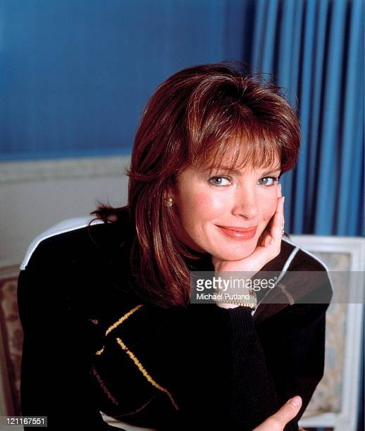 Actress Jaclyn Smith portrait London January 1988