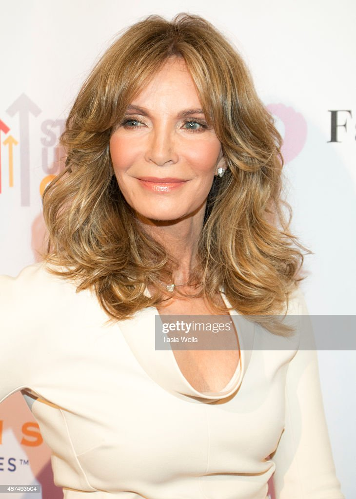 Actress jaclyn smith poses for portrait at farrah fawcett foundation