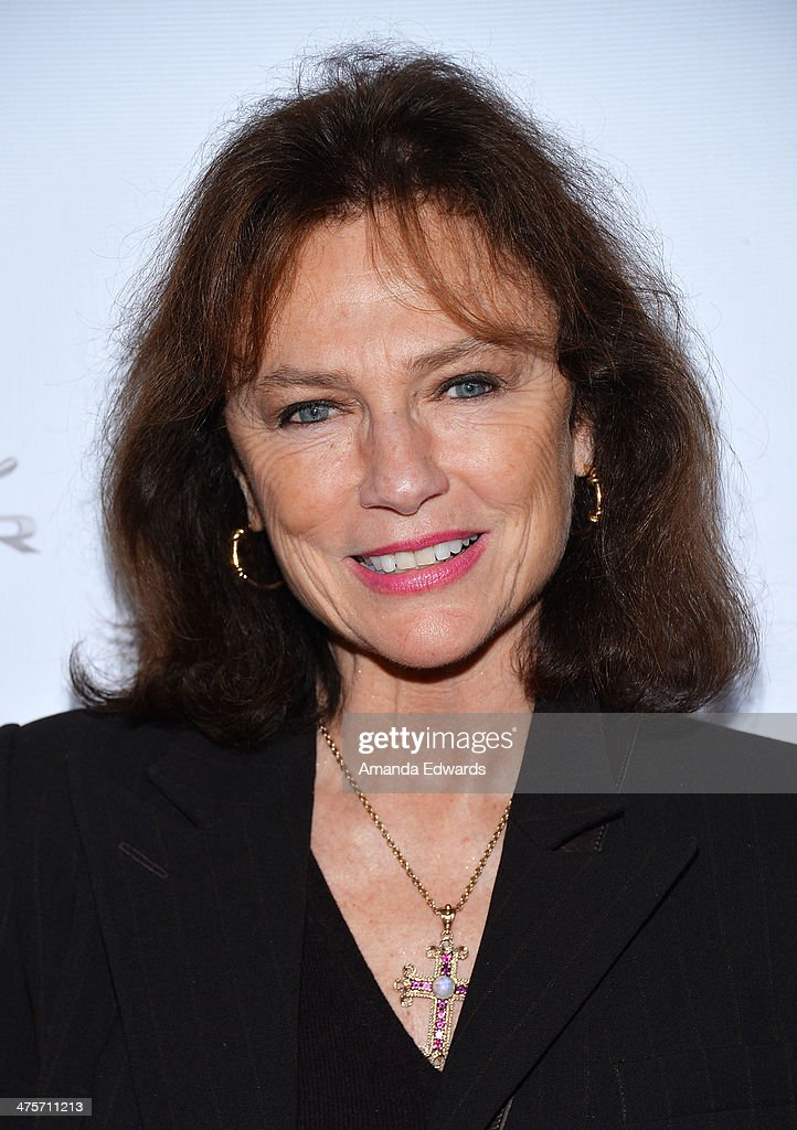 Actress <a gi-track='captionPersonalityLinkClicked' href=/galleries/search?phrase=Jacqueline+Bisset&family=editorial&specificpeople=204696 ng-click='$event.stopPropagation()'>Jacqueline Bisset</a> arrives at the GREAT British Film Reception honoring the British Nominees of The 86th Annual Academy Awards at British Consul General's Residence on February 28, 2014 in Los Angeles, California.