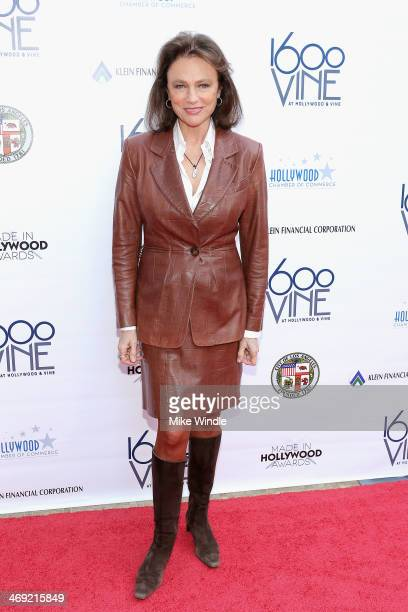 Actress Jacqueline Bisset attends Los Angeles City Council's Made In Hollywood award presentation on February 13 2014 in Hollywood California
