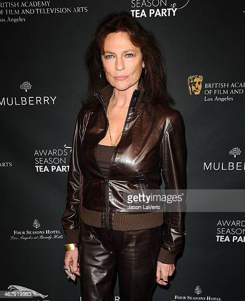 Actress Jacqueline Bisset attends the BAFTA LA 2014 awards season tea party at Four Seasons Hotel Los Angeles at Beverly Hills on January 11 2014 in...