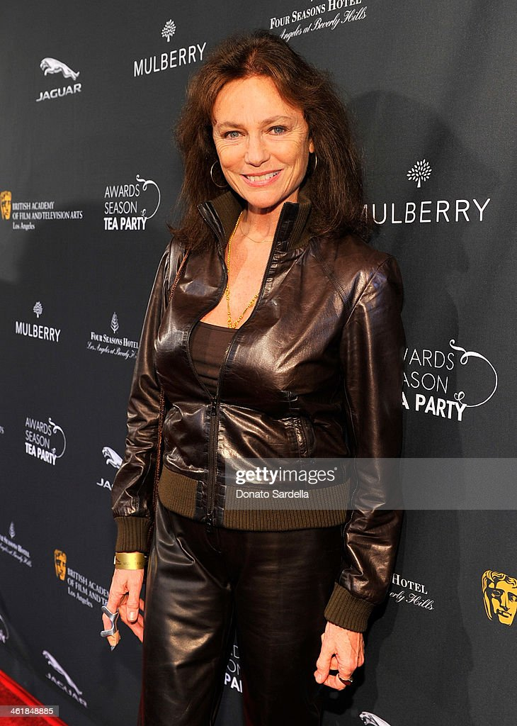 Actress <a gi-track='captionPersonalityLinkClicked' href=/galleries/search?phrase=Jacqueline+Bisset&family=editorial&specificpeople=204696 ng-click='$event.stopPropagation()'>Jacqueline Bisset</a> attends the BAFTA LA Awards Season Tea Party with Mulberry at the Four Seasons Hotel Los Angeles at Beverly Hills on January 11, 2014 in Beverly Hills, California.