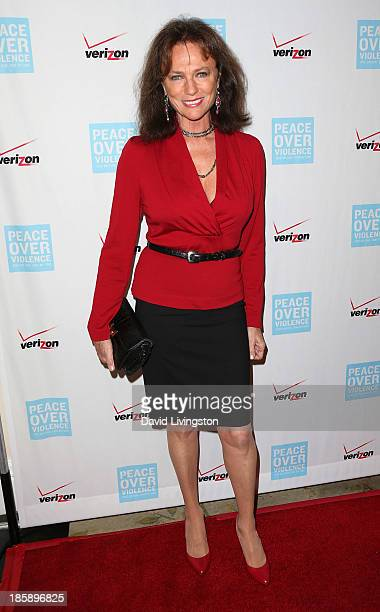Actress Jacqueline Bisset attends the Peace Over Violence 42nd Annual Humanitarian Awards Dinner and Silent Auction at the Beverly Hills Hotel on...