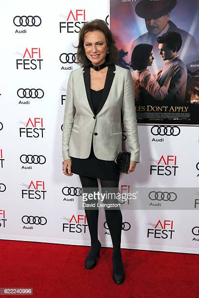 Actress Jacqueline Bisset attends the premiere of Rules Don't Apply at AFI Fest 2016 presented by Audi at TCL Chinese Theatre on November 10 2016 in...
