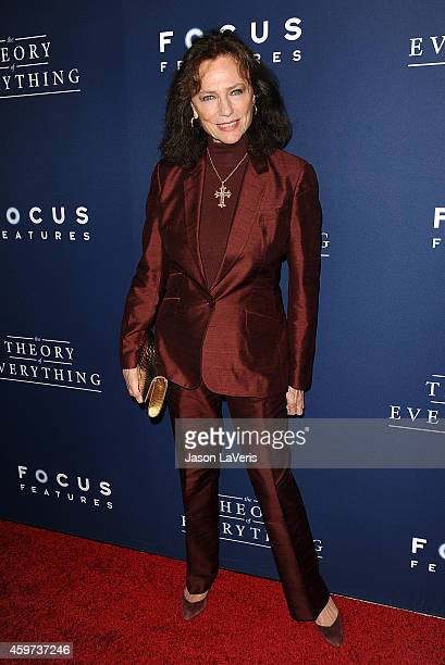 Actress Jacqueline Bisset attends the premiere of 'The Theory of Everything' at AMPAS Samuel Goldwyn Theater on October 28 2014 in Beverly Hills...
