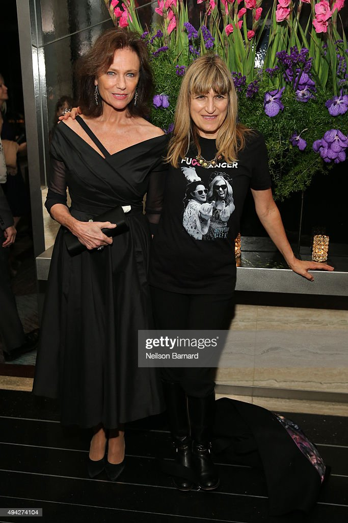 Actress Jacqueline Bissett and director Catherine Hardwicke attend the Montblanc & The Cinema Society screening of Roadside Attractions & Lionsgate's 'Miss You Already' at The Rainbow Room on October 25, 2015 in New York City.