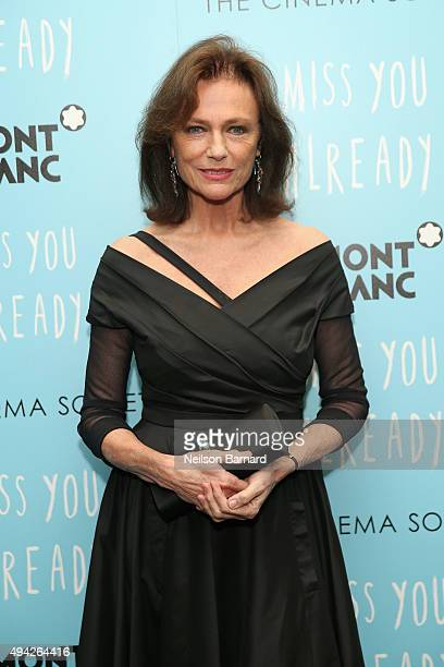 Actress Jacqueline Bissett attends the Montblanc The Cinema Society screening of Roadside Attractions Lionsgate's 'Miss You Already' at Museum of...