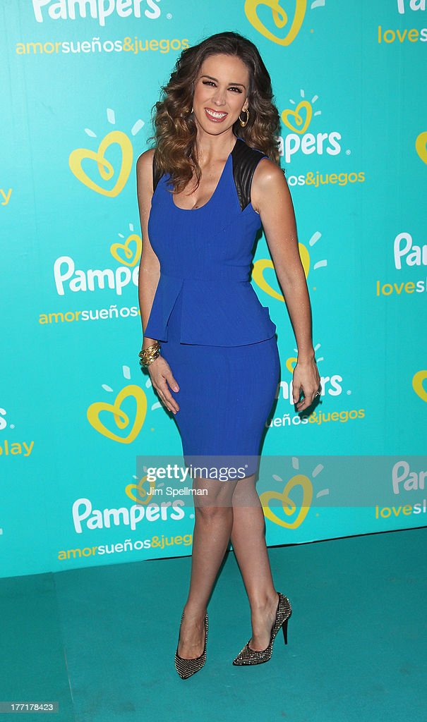 actress jacqueline bracamontes attends the pampers love sleep u0026 play campaign launch at vanderbilt hall