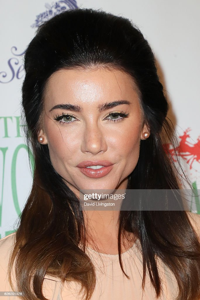 Actress Jacqueline MacInnes Wood arrives at the 85th Annual Hollywood Christmas Parade on November 27, 2016 in Hollywood, California.