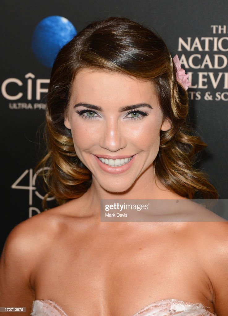 Actress <a gi-track='captionPersonalityLinkClicked' href=/galleries/search?phrase=Jacqueline+MacInnes+Wood&family=editorial&specificpeople=5384852 ng-click='$event.stopPropagation()'>Jacqueline MacInnes Wood</a> attends The 40th Annual Daytime Emmy Awards at The Beverly Hilton Hotel on June 16, 2013 in Beverly Hills, California.