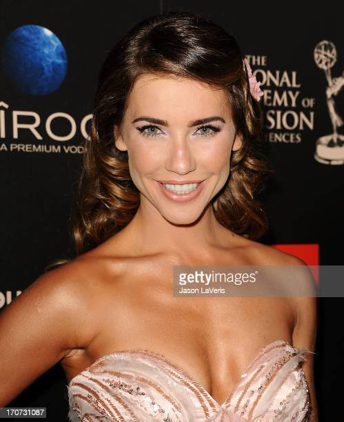 Actress Jacqueline MacInnes Wood attends the 40th annual Daytime Emmy Awards at The Beverly Hilton Hotel on June 16 2013 in Beverly Hills California