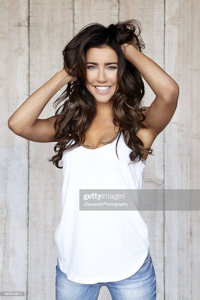 Actress Jacqueline MacInnes Wood is photographed for Self Assignment