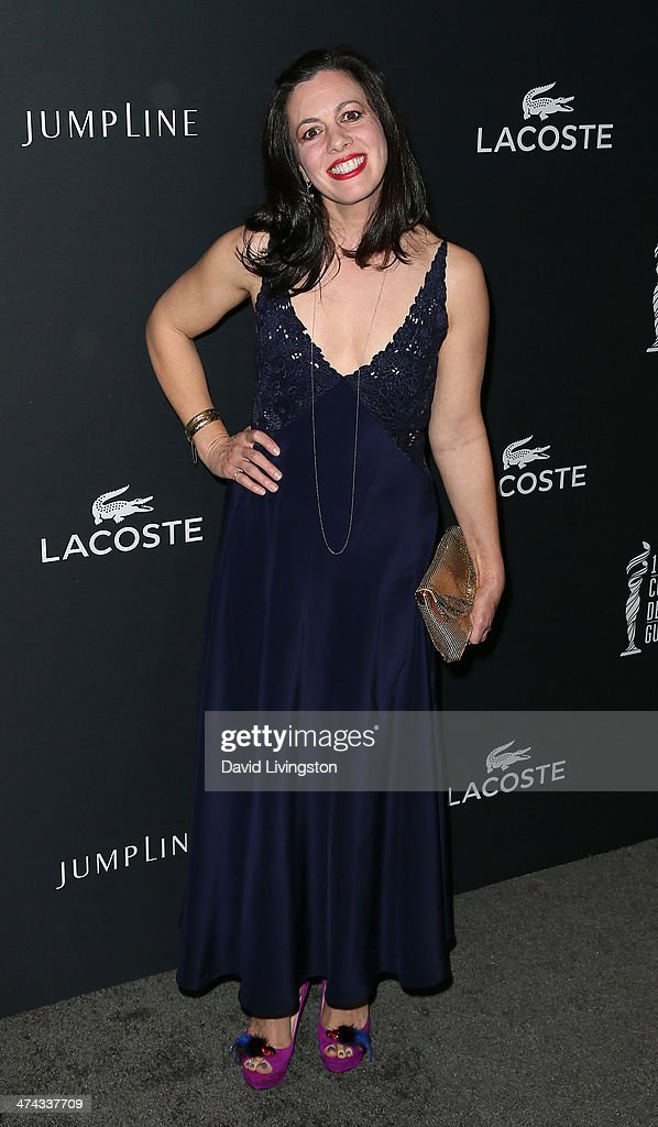 Actress Jacqueline Mazarella attends the 16th Costume Designers Guild Awards with presenting sponsor Lacoste at The Beverly Hilton Hotel on February 22, 2014 in Beverly Hills, California.