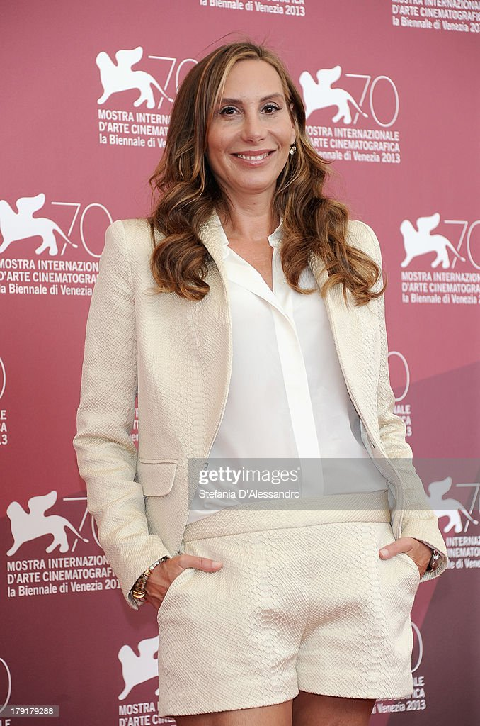 Actress Jacqui Getty attends 'Palo Alto' Photocall during the 70th Venice International Film Festival at Palazzo del Casino on September 1, 2013 in Venice, Italy.