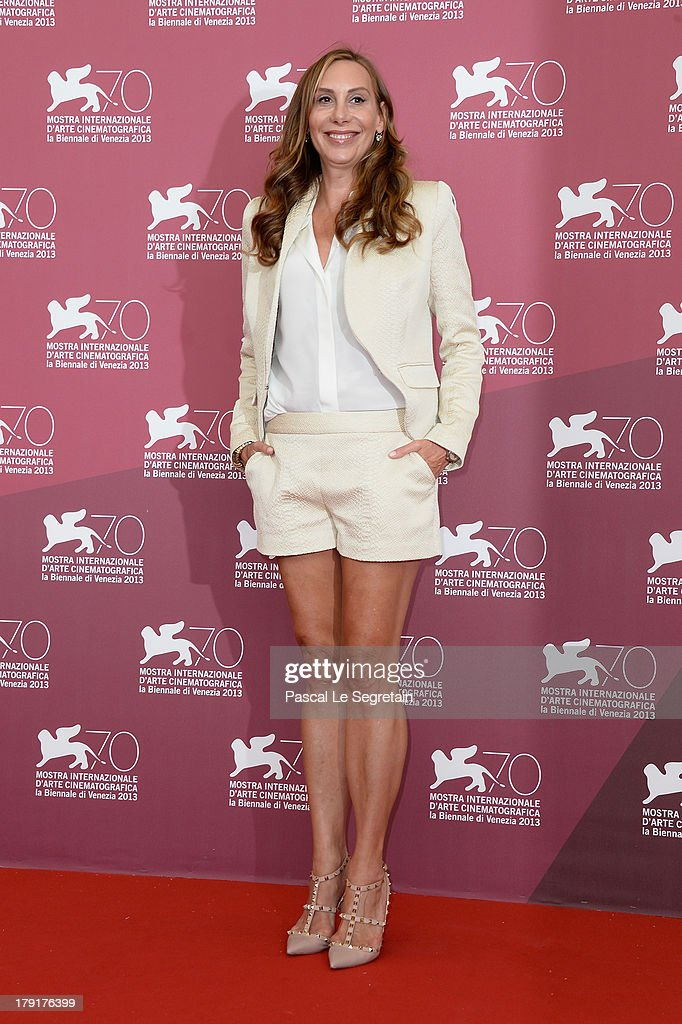 Actress Jacqui Getty attends the 'Palo Alto' Photocall during the 70th Venice International Film Festival at the Sala Grande on September 1, 2013 in Venice, Italy.