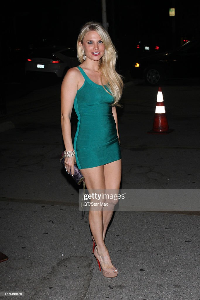 Actress Jacqui Holland is seen on August 19, 2013 in Los Angeles, California.