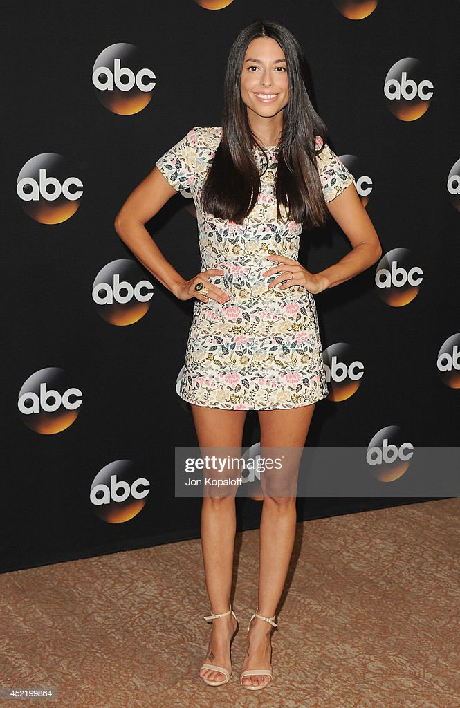 Actress Jada Catta-Preta arrives the Disney|ABC Television Group 2014 Television Critics Association Summer Press Tour at The Beverly Hilton Hotel on July 15, 2014 in Beverly Hills, California.