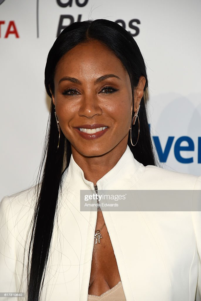 Actress Jada Pinkett Smith arrives at the 26th Annual EMA Awards at Warner Bros. Studios on October 22, 2016 in Burbank, California.