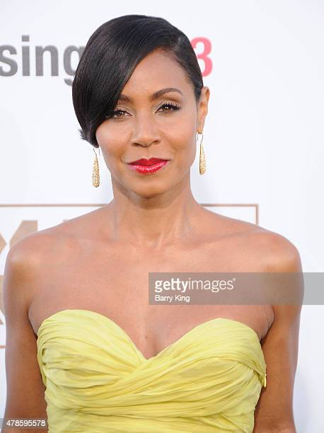 Actress Jada Pinkett Smith arrives at the Los Angeles World Premiere of Warner Bros Pictures 'Magic Mike XXL' at TCL Chinese Theatre on June 25 2015...
