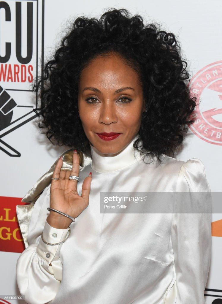 Actress Jada Pinkett Smith at 2017 HBCU Power Awards at Morehouse College on October 20, 2017 in Atlanta, Georgia.