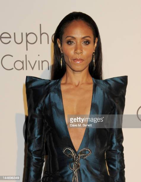 Actress Jada Pinkett Smith attends as The IFP Calvin Klein Collection euphoria Calvin Klein celebrate Women In Film during the 65th Cannes Film...